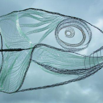 OEUVRE HÉLÈNE tête de poisson