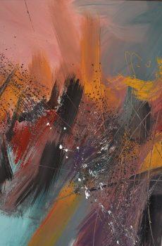 GÉRARD BESSETDébut orageux – 85×100 – 2010