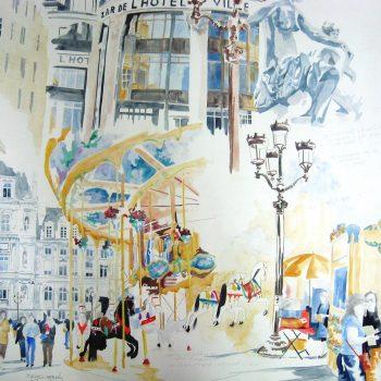 PATRICIA RABEUX Bazar de l'hotel de ville 102×106