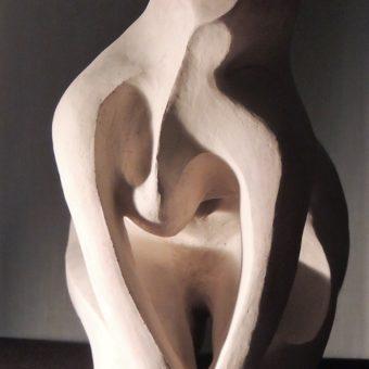 photo sculpture femme brisée 2